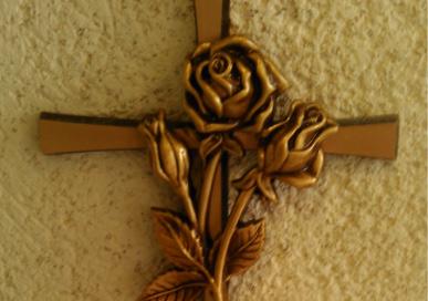 Pompes funèbres Croix en bronze