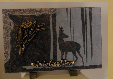 pompes funèbres andriot plaques funéraires