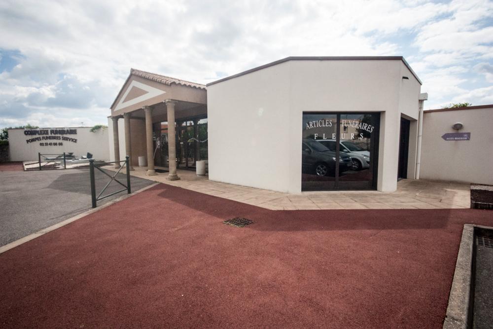 Les pompes funèbres Andriot à Bellevigny en Vendée