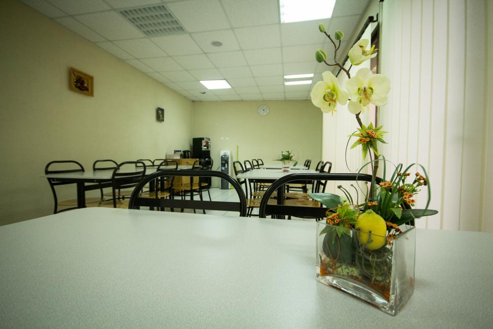 Salle de convivialité pour veillée d'obsèques en Vendée