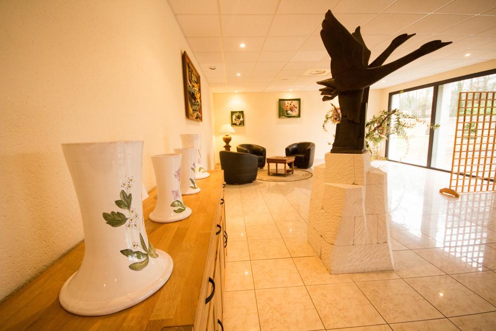 Salle de convivialité pour vos obsèques en Vendée