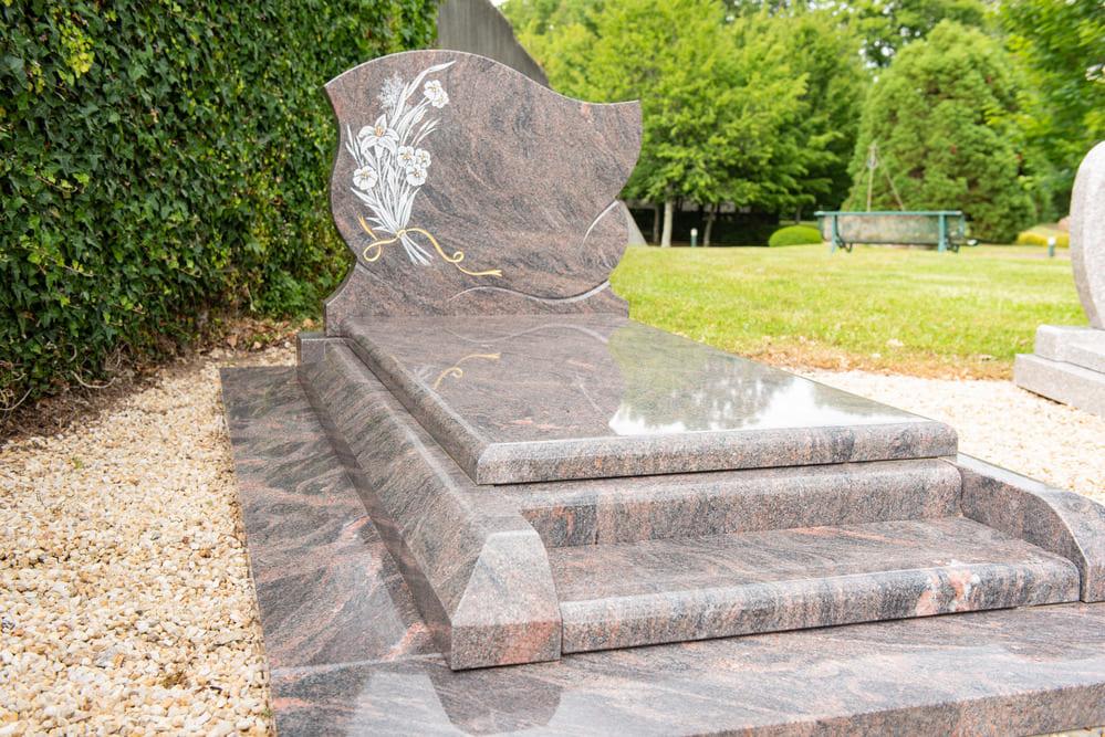 plaque funéraire - Pompes funèbres Andriot - Aubigny-Les Clouzeaux, Vendée