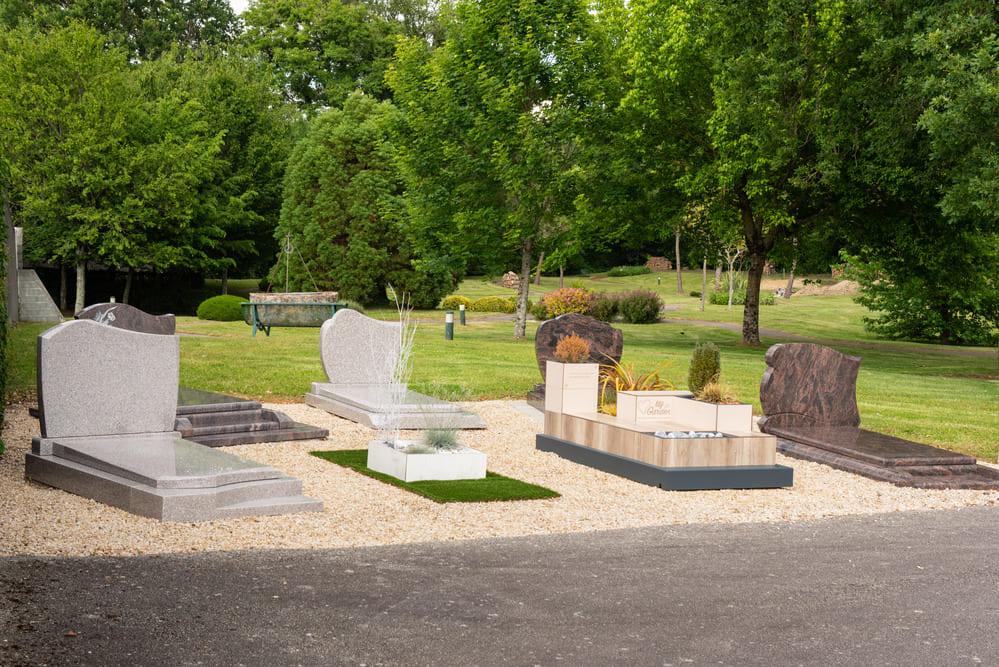 Plaques funéraires- Pompes funèbres Andriot - Aubigny-Les Clouzeaux, Vendée