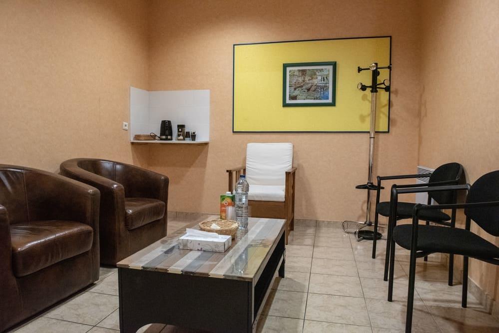 Salle de convivialité, Pompes funèbres Andriot, Belleville-sur-vie, vendée